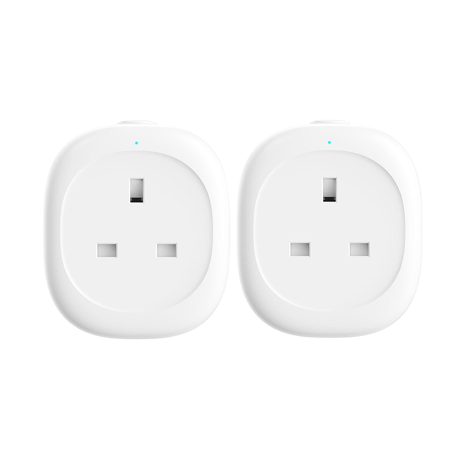WiFi Smart Plug, Woostar WiFi Plug Sockets Compatible with Amazon Alexa/Google Assistant/IFTTT, Wireless Plug with Timer Function, Remote Control Your Devices from Anywhere by Phone (2-Pack)
